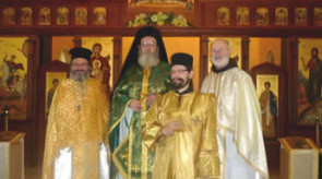 Fr. Philaret with the Assisting Clergy